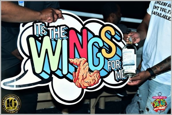 Its The WINGS For Me on A Yacht – Jul 1